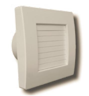 Ventilator axial cu jaluzele automate